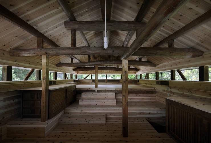 天守閣の2階: 総合建築植田が手掛けたです。