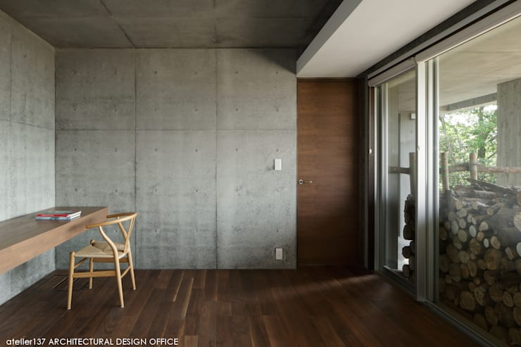 Salas multimedias de estilo  por atelier137 ARCHITECTURAL DESIGN OFFICE
