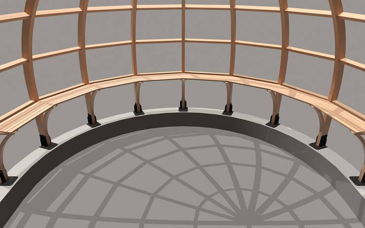 Helis Grafik – Amazon Wooden – Medyan:  tarz Etkinlik merkezleri, Minimalist