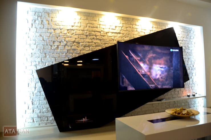 ROAS Mimarlık – Tv Ünite - Salon :  tarz Oturma Odası