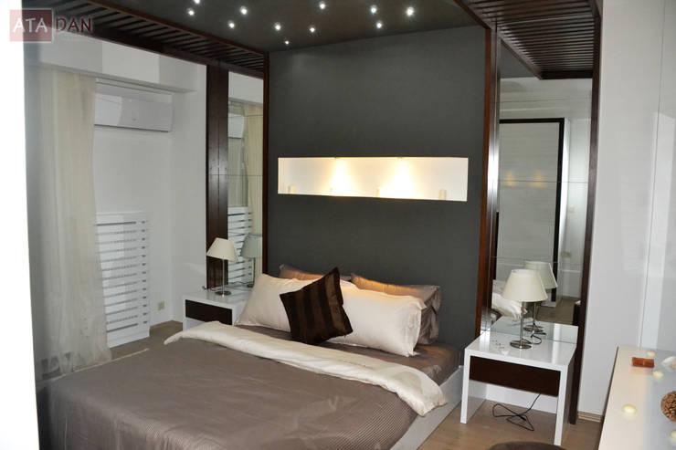 ROAS Mimarlık – Genel Görünüm - Yatak Odası:  tarz Yatak Odası