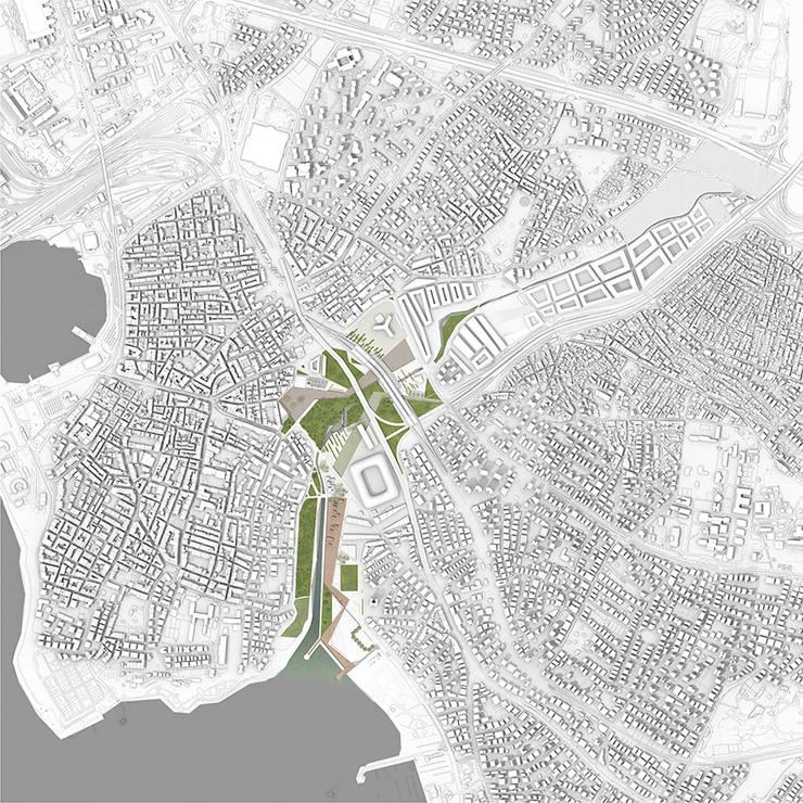 Praxis Peyzaj Mimarlığı ve Kentsel Tasarım – Kurbağalıdere Vadisi:  tarz Havalimanları, Modern