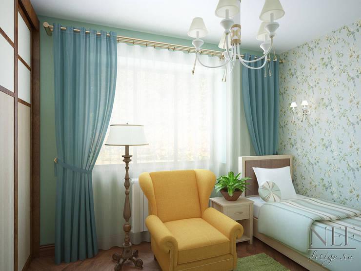 Коттедж: Спальни в . Автор – Юлия Паршихина