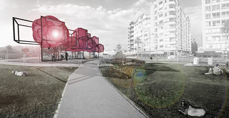 Praxis Peyzaj Mimarlığı ve Kentsel Tasarım – Habitat:  tarz Bahçe, Endüstriyel