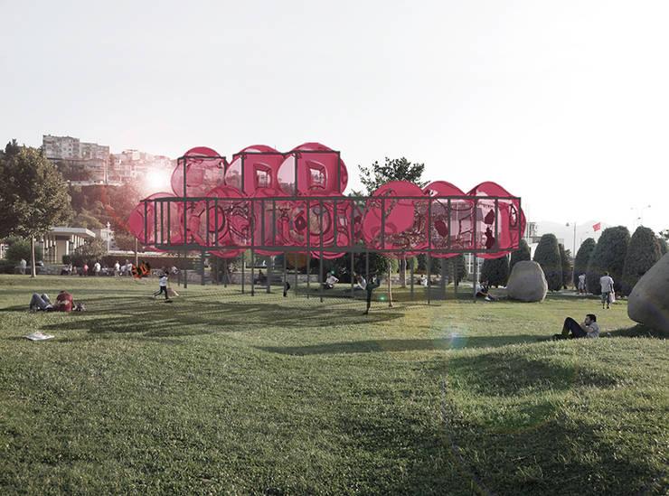 Praxis Peyzaj Mimarlığı ve Kentsel Tasarım – Habitat:  tarz Bahçe, Akdeniz