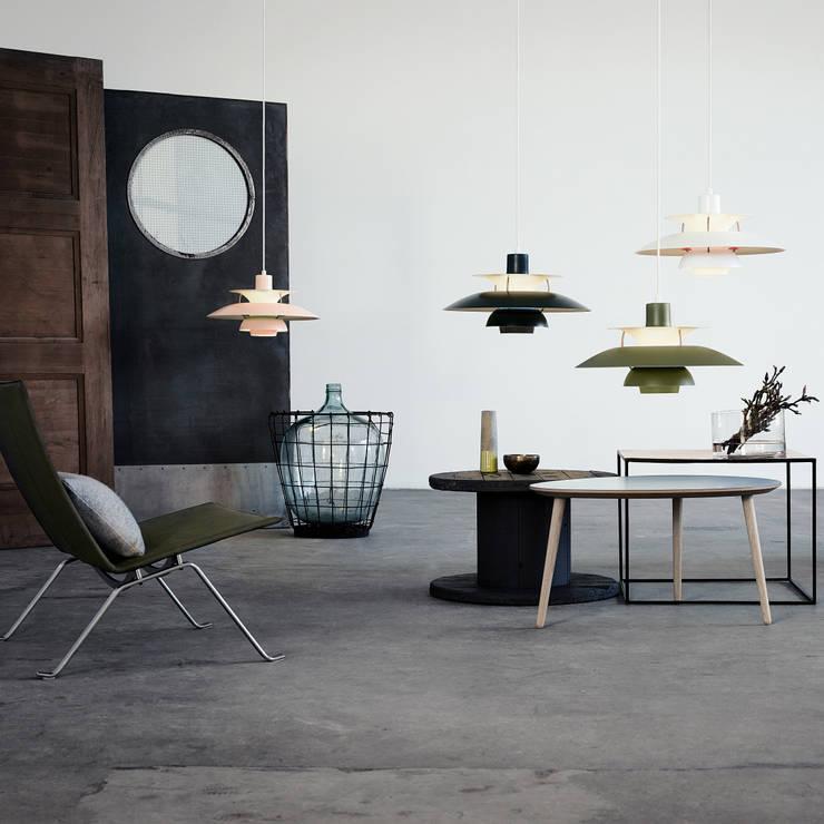 Projekty,  Salon zaprojektowane przez Connox