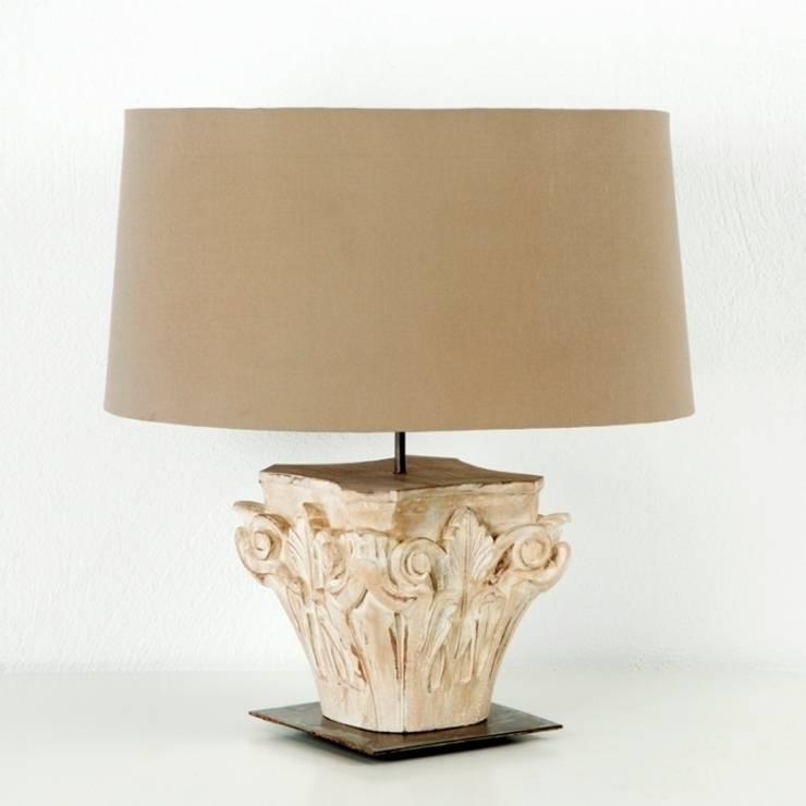 Lámpara Sobremesa Thai Natura: Dormitorios de estilo clásico de DECORSIA HOME,S.L.