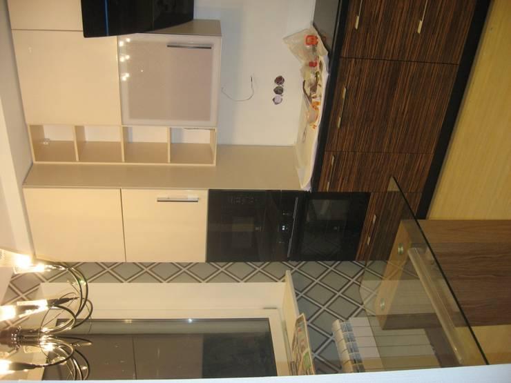 Кухня Зебрано глянец: Кухня в . Автор – Dikiy Zebra,