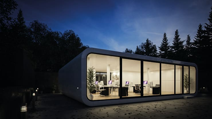 Edificios de Oficinas de estilo  por LTG Lofts to go - coodo