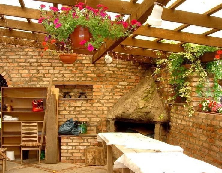 Letni pokój - wgłębnik: styl , w kategorii  zaprojektowany przez Garden Ekspert Studio Architektury Krajobrazu