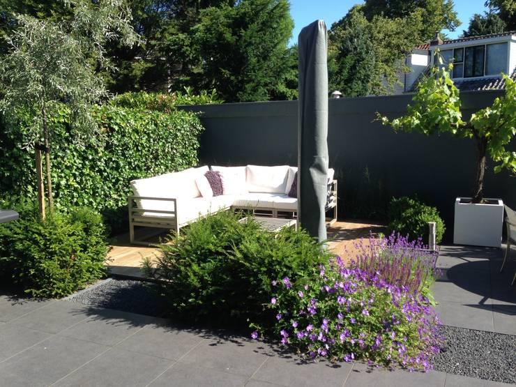 Moderne tuin in Santpoort-Zuid:  Tuin door Biesot, Modern