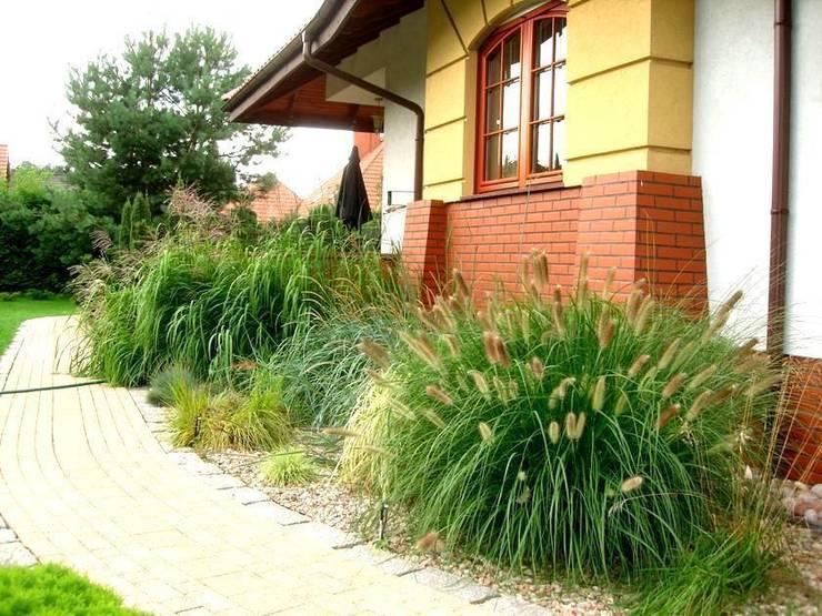Ogród wśród sosen: styl , w kategorii  zaprojektowany przez Garden Ekspert Studio Architektury Krajobrazu