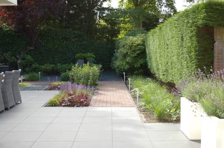 Moderne tuin Heemstede:  Tuin door Biesot
