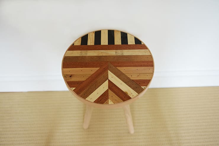 The Unique Side Table Five:  Living room by Factory Twenty One,