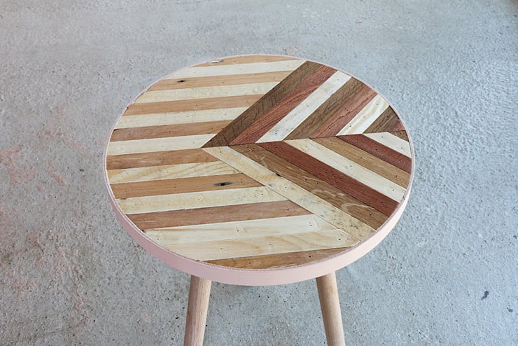 The Unique Side Table Four:  Living room by Factory Twenty One,