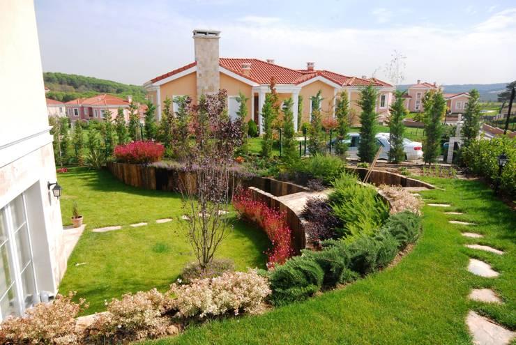 Bahçevilla Peyzaj Tasarım Uygulama – Bahçeler de şev çözümleri / :  tarz