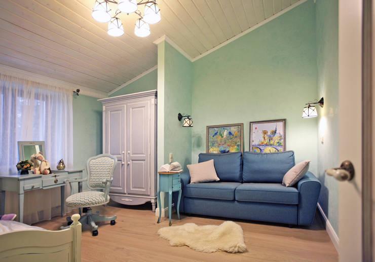 пос. Николина гора, Рублево-Успенское шоссе: Детские комнаты в . Автор – Дизайн-студия интерьера 'ART-B.O.s'