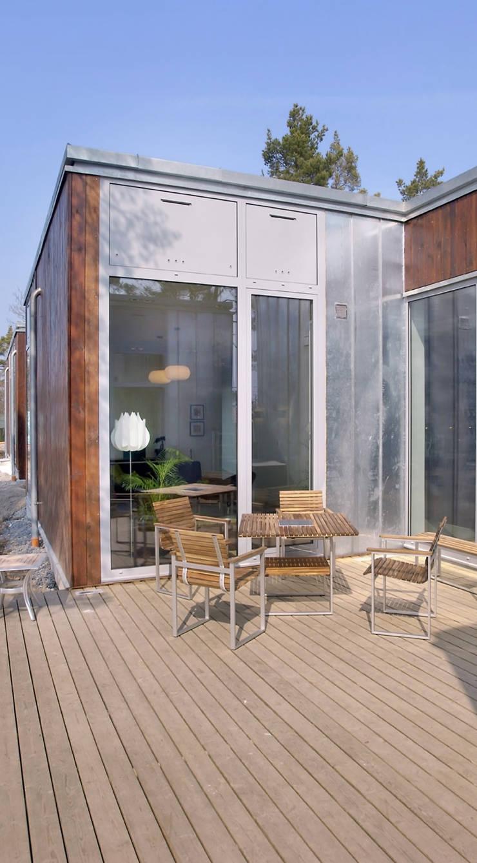 DOM NACKA: styl , w kategorii Domy zaprojektowany przez mellon architekci,Minimalistyczny