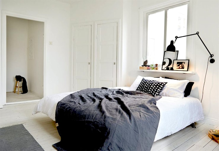 RENOVATION CHAMBRE: Chambre de style de style Scandinave par M-S DESIGN