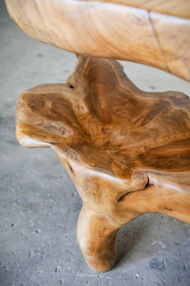 Roots / COCAINE TABLE: Гостиная в . Автор – WOODSTONEBALI