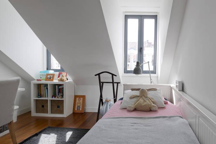Projekty,  Pokój dziecięcy zaprojektowane przez RRJ Arquitectos