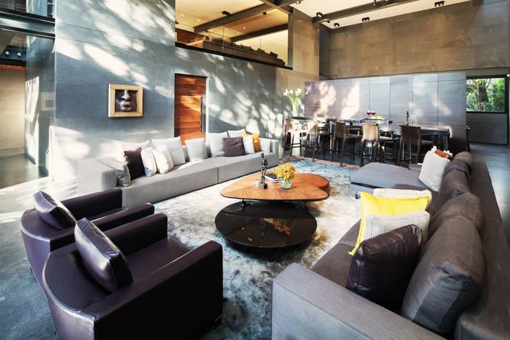 Salas de estar  por grupoarquitectura
