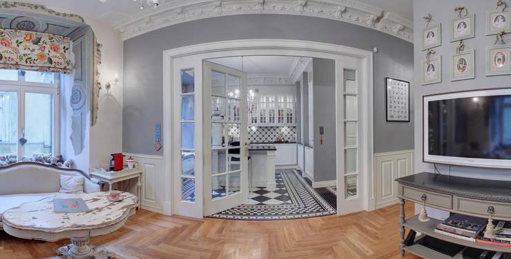 Mieszkanie w renesansowej kamienicy: styl , w kategorii Kuchnia zaprojektowany przez MG Interior Studio Michał Głuszak