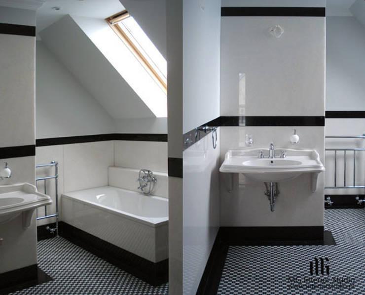 Wzorzyste posadzki: styl , w kategorii Ściany zaprojektowany przez MG Interior Studio Michał Głuszak