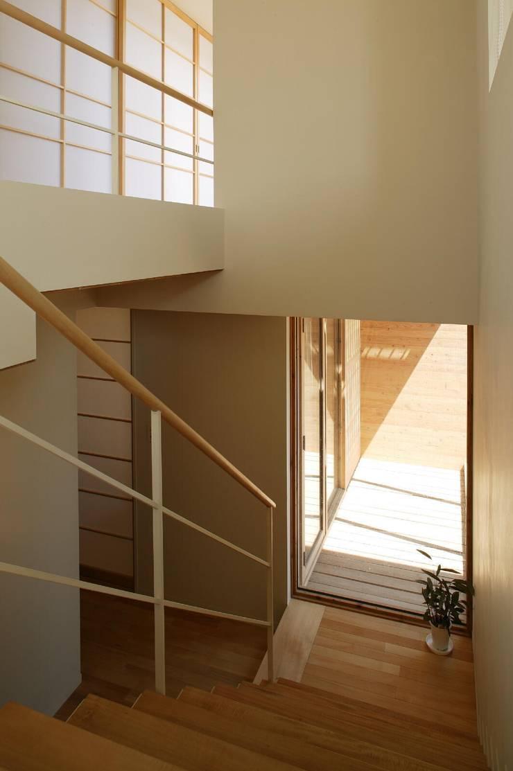 階段1: キタウラ設計室が手掛けた廊下 & 玄関です。