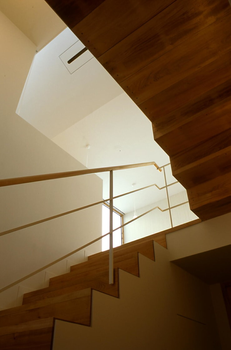 階段2: キタウラ設計室が手掛けた廊下 & 玄関です。
