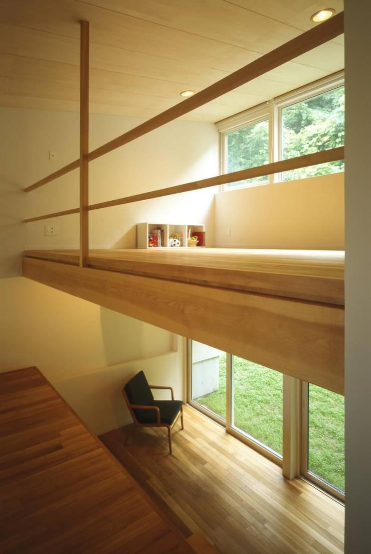 子供室、書斎: キタウラ設計室が手掛けた子供部屋です。,オリジナル