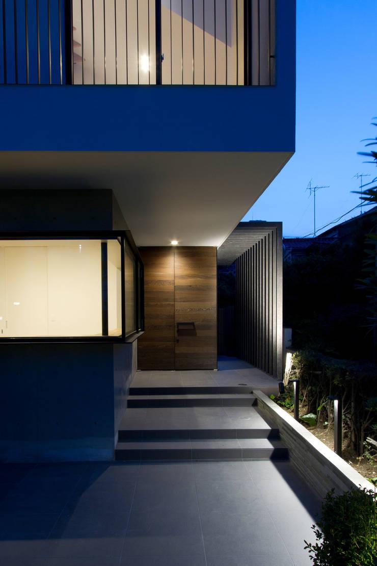 Casas modernas por ピコグラム建築設計事務所 Moderno