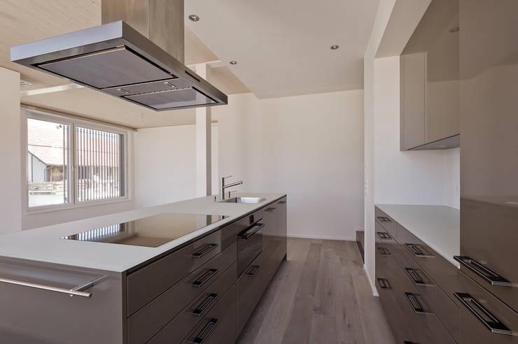 Projekty,  Kuchnia zaprojektowane przez Giesser Architektur + Planung