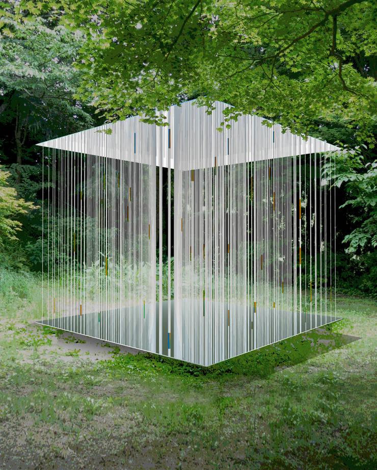 ephemeral scape: Yukinobu Toyama Architectsが手掛けた庭です。