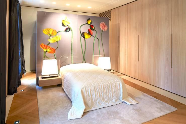 غرفة نوم تنفيذ SilvestrinDesign