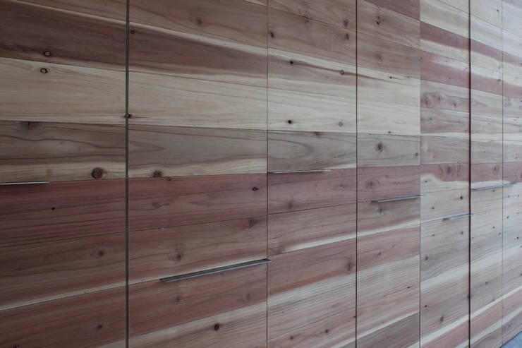 Atelier Namu Saenggak: around architects의  벽