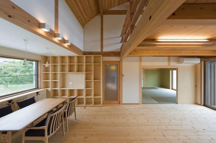 .: SA設計一級建築士事務所が手掛けたリビングです。,モダン