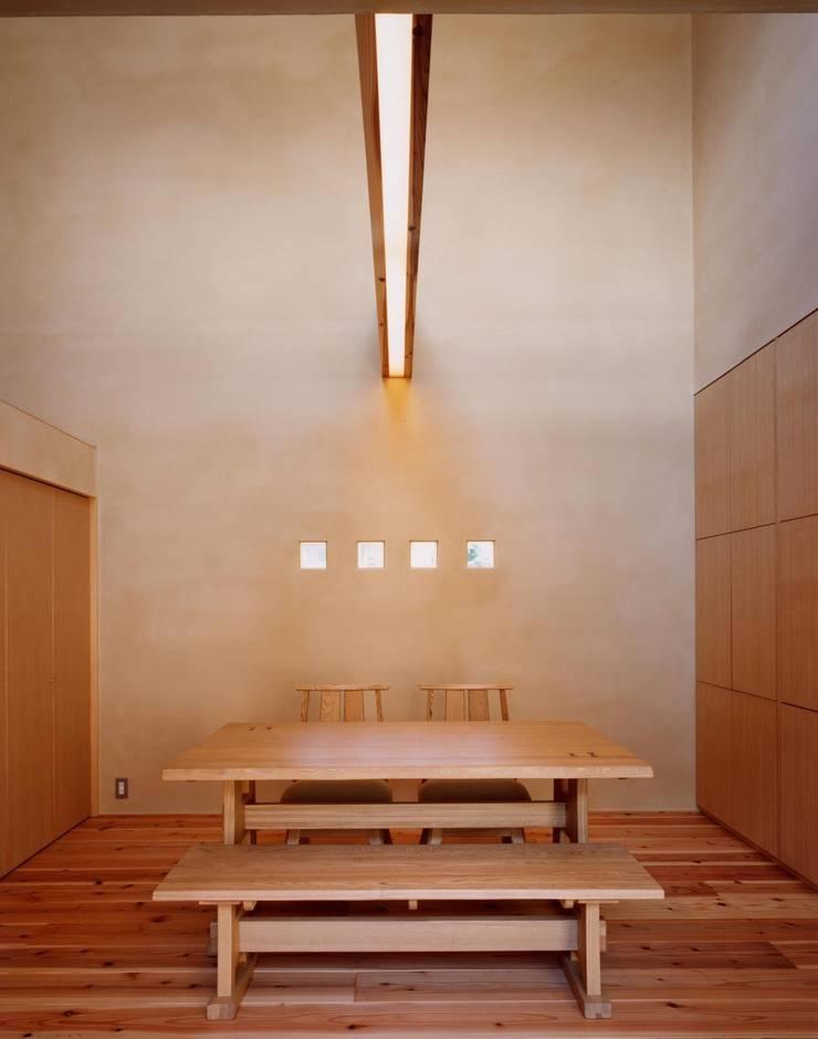 リビング・ダイニング: 建築工房なかしま一級建築士事務所(Nakasima-Architects-Workshop)が手掛けたリビングです。