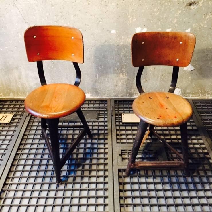 Rowac Style Chair, Wooden / Metal East Germany, 30s: Industriale Küche Von  Urban