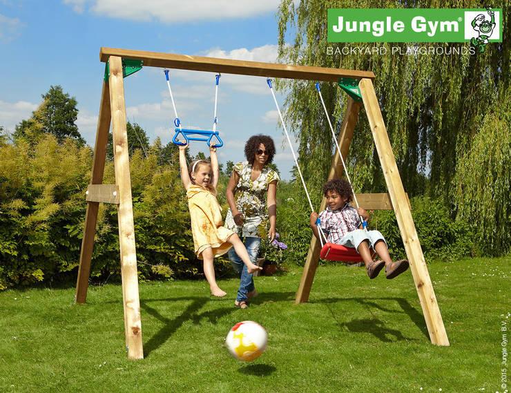 Jungle Gym Swing 220 cm:  Tuin door Jungle Gym