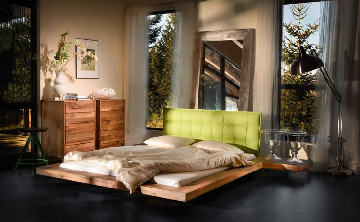 Łóżko Vixi: styl , w kategorii Sypialnia zaprojektowany przez Lupus73