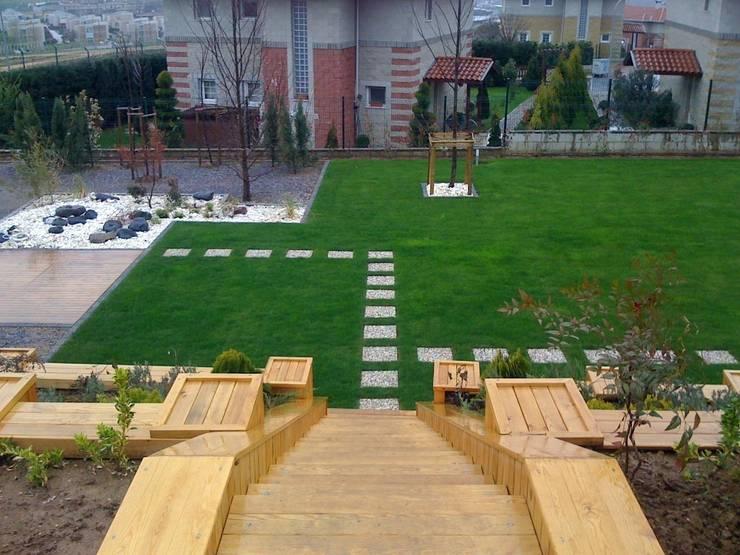Projekty,  Ogród zaprojektowane przez GREENLİNE PEYZAJ