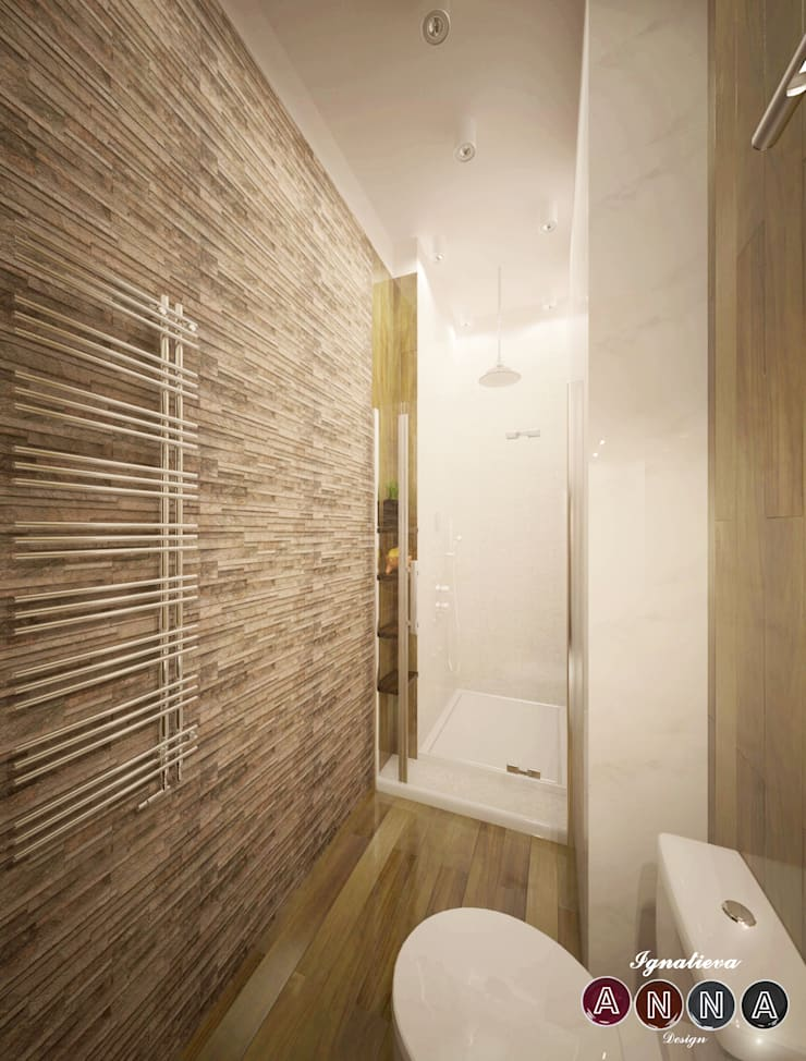 Каменная ванная: Спа в . Автор – Дизайн-студия Анны Игнатьевой