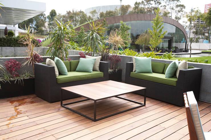 Sala para terraza de Mob Moderno