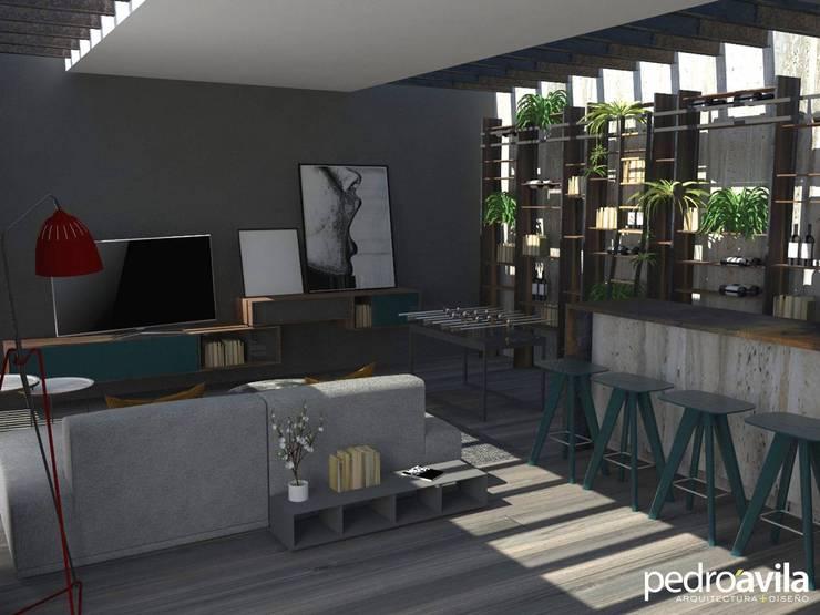 Loft El Castaño Metepec, Estado de México Balcones y terrazas modernos de pedroavila.com.mx Moderno