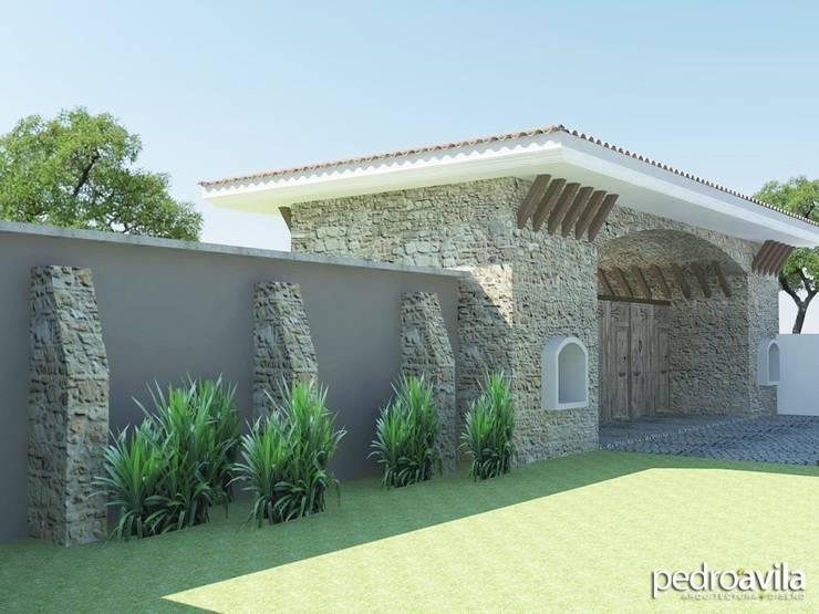 Proyecto Cacalomacán, Estado de México: Casas de estilo  por pedroavila.com.mx
