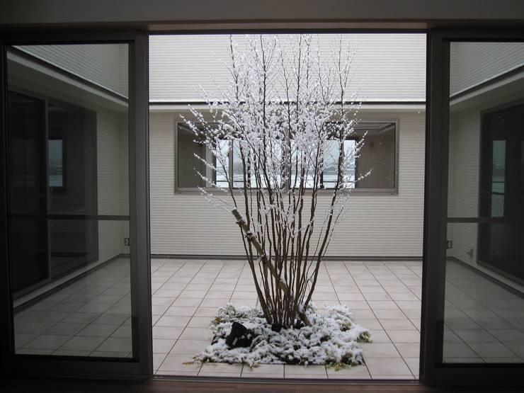 .: よしだみわこ建築設計事務所が手掛けた庭です。