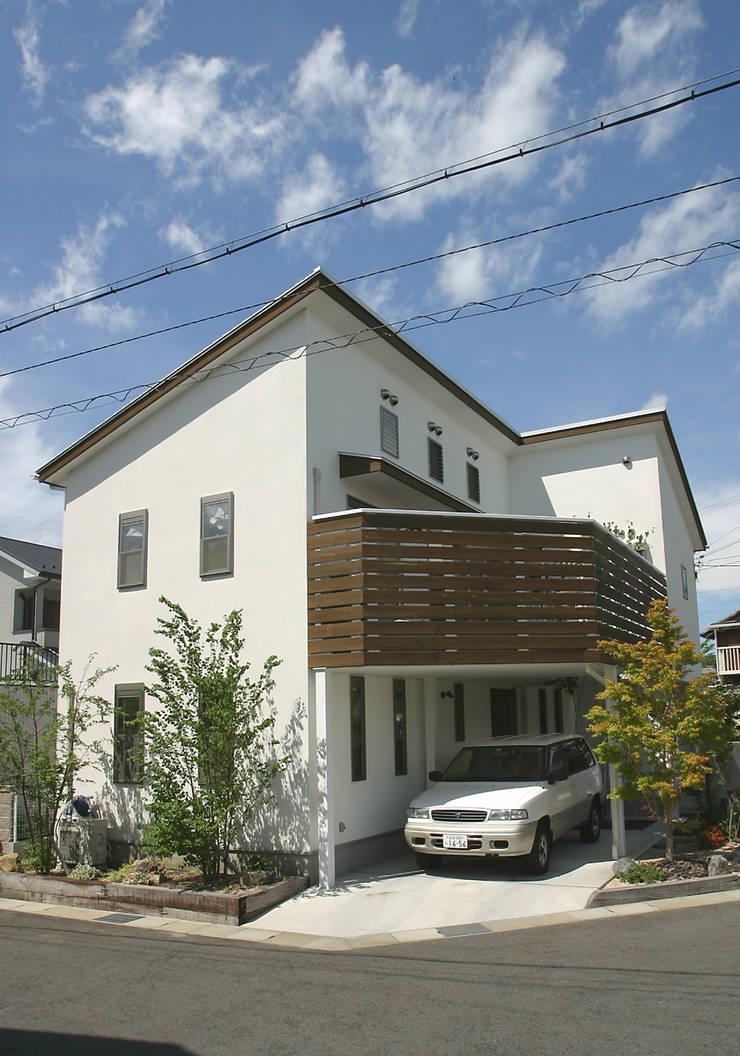 .: よしだみわこ建築設計事務所が手掛けた家です。