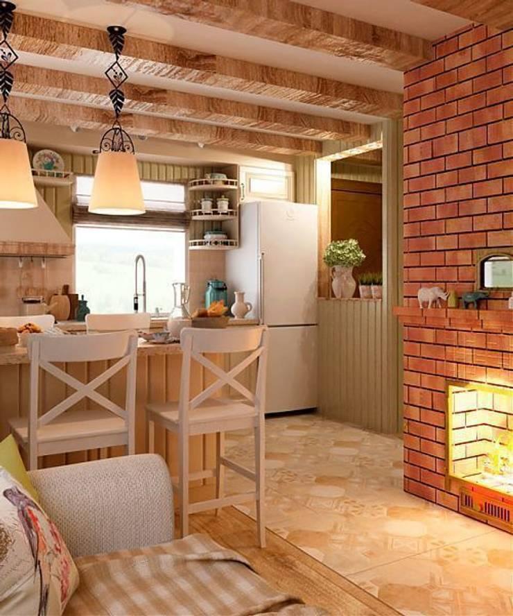 Дизайн интерьера дома: Кухни в . Автор – MoRo