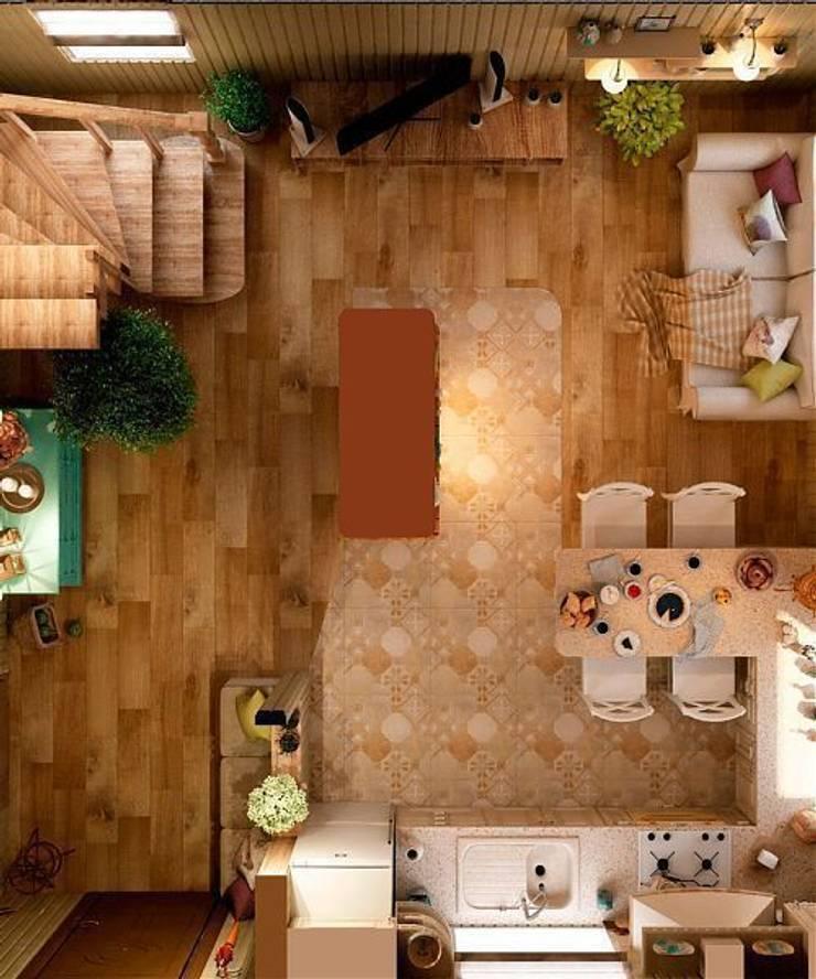 Дизайн интерьера дома: Гостиная в . Автор – MoRo